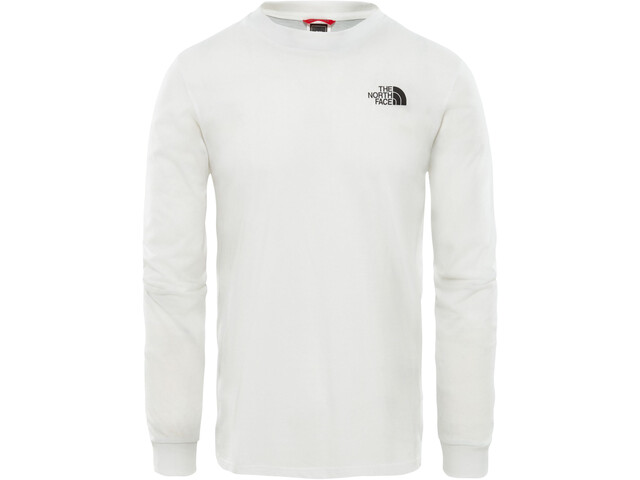 The North Face Simple Dome Longsleeve T-shirt Heren, wit
